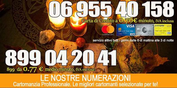 cartomanzia 899 cartadicredito gratis.net