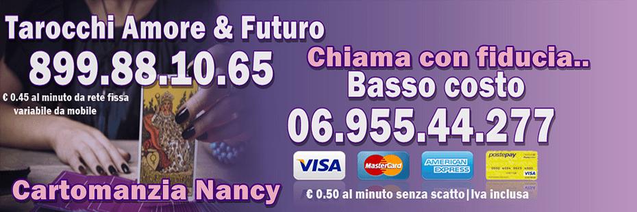 Banner cartomanzia nancy tarocchi basso costo